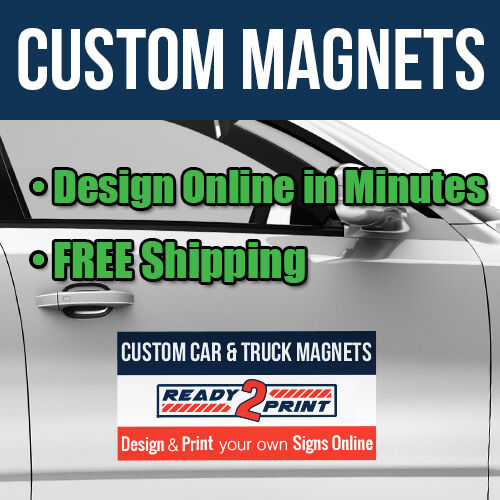 12 x 24 custom car magnets magnetic signs for autos for 12 x 24 car door magnets