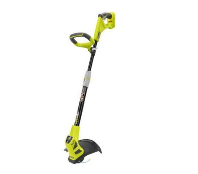 Ryobi 18-Volt Lithium Ion Cordless Electric String Weed ...