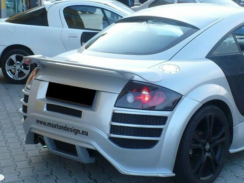 rear spoiler r8 look audi tt mk1 1998 2006 ebay. Black Bedroom Furniture Sets. Home Design Ideas