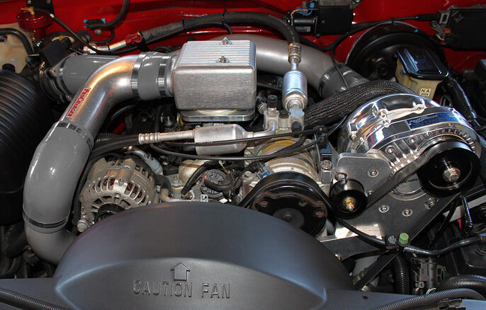 Chevy GM Truck/SUV Procharger 5.7L P-1SC Supercharger HO ...
