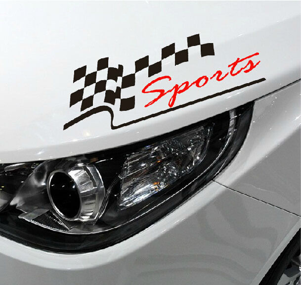 Reflective Sport Headlight Sports Mind Decal Vinyl Car