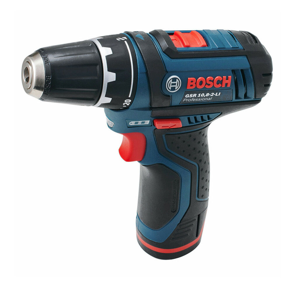 bosch gsb 10 8 2 li cordless impact drill driver combi body only no retail box ebay. Black Bedroom Furniture Sets. Home Design Ideas