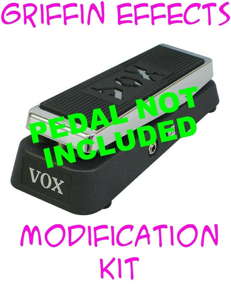 vox v847a wah true bypass with led modification kit griffin effects bonus ebay. Black Bedroom Furniture Sets. Home Design Ideas
