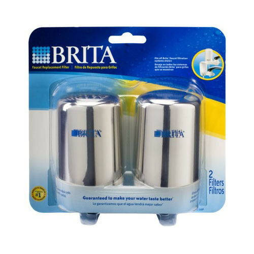 Brita 42618 On Tap Chrome Faucet Mount Replacement Filter