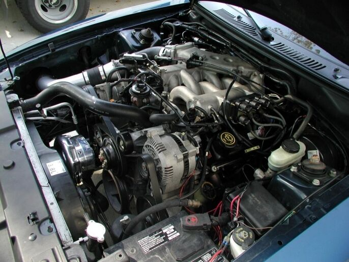 Ford Mustang V6 3 8l Procharger P 1sc Supercharger