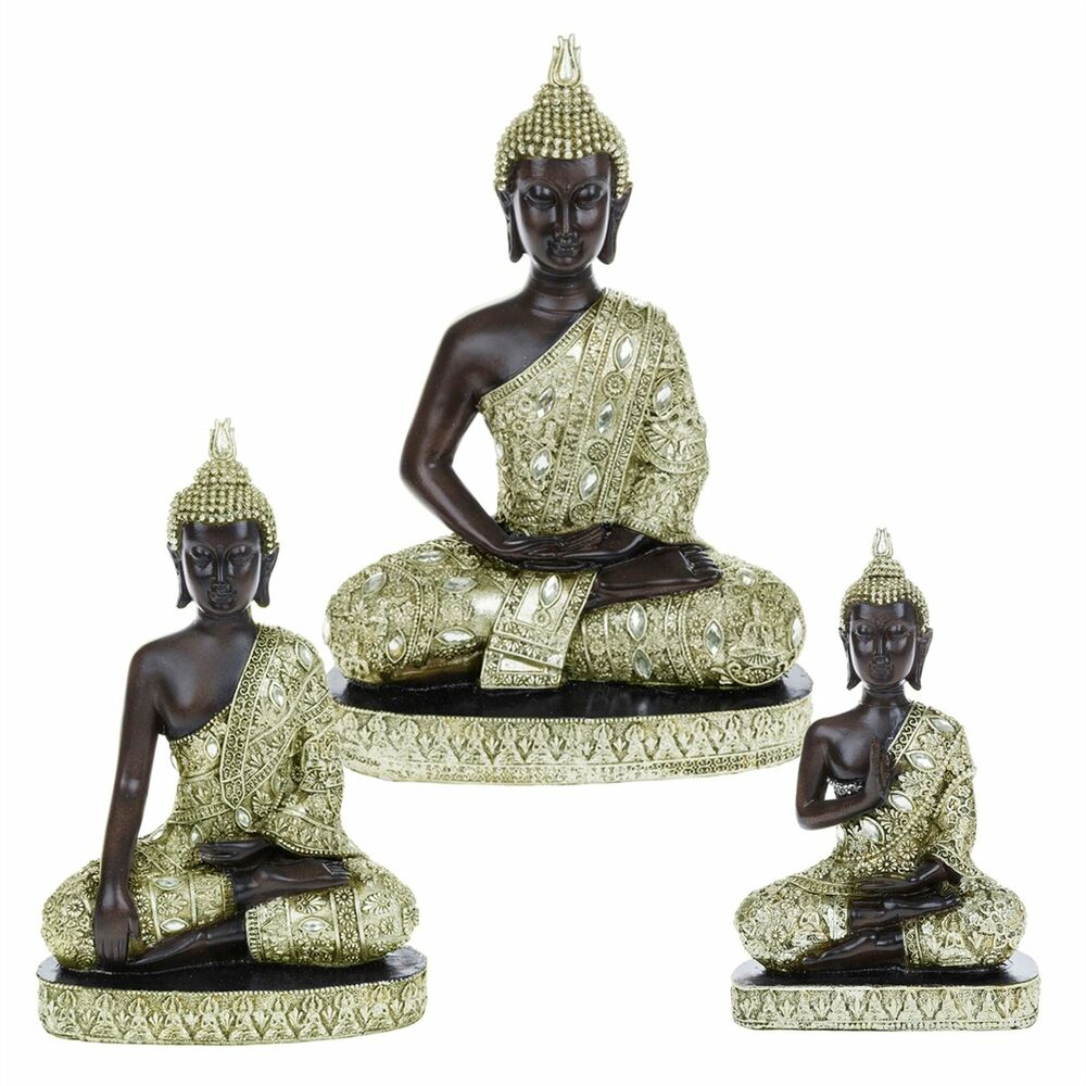 Antique Table Decor Buddha Statue Collectable Religious: Thai Buddha Statues Sitting Kneeling Standing Feng Shui