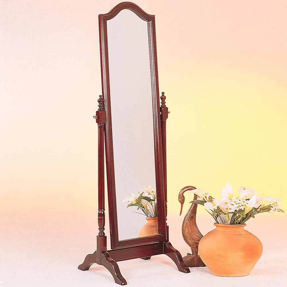 Accent Swivel Standing Full Length Cheval Floor Mirror