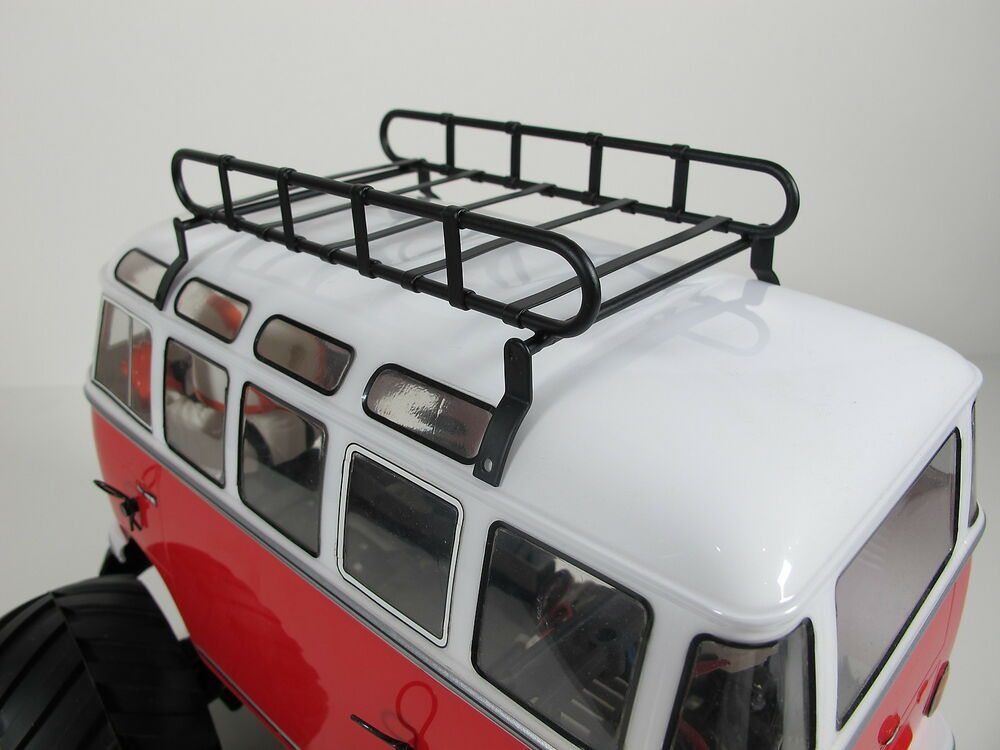 1 10 Metal Roof Mount Luggage Rack Tray For Tamiya Wr 02