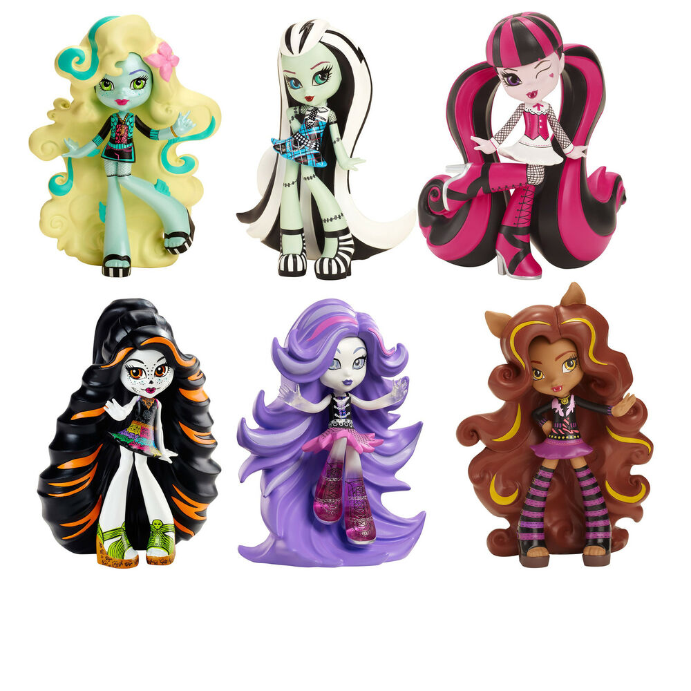 monster high vinyl collectable figure frankie skelita spectra clawdeen lagoona ebay. Black Bedroom Furniture Sets. Home Design Ideas