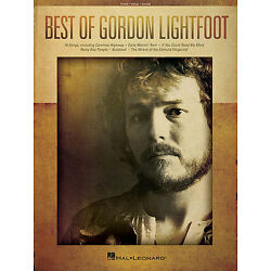Kyпить Best of Gordon Lightfoot Sheet Music Piano Vocal Guitar SongBook NEW 000139390 на еВаy.соm