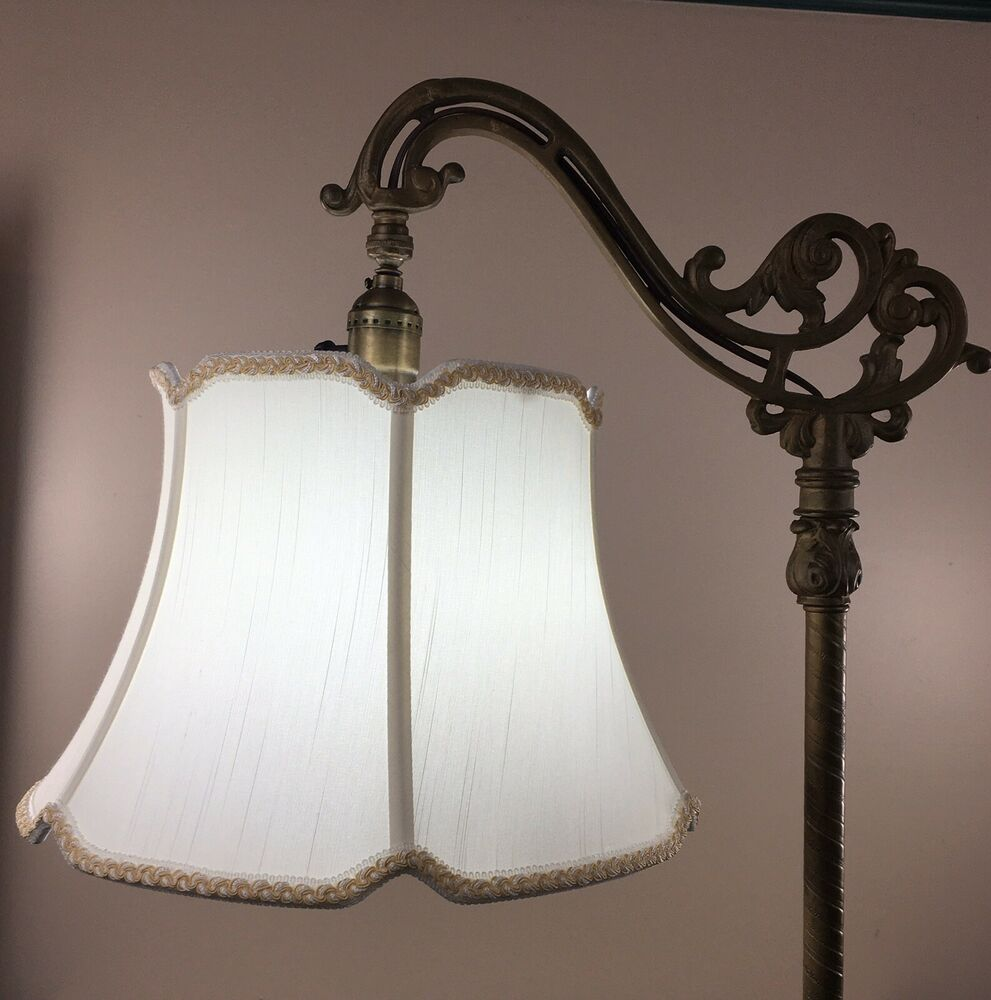 Bridge Floor Lamp Shade V Notch For Antique Lamp Tailor