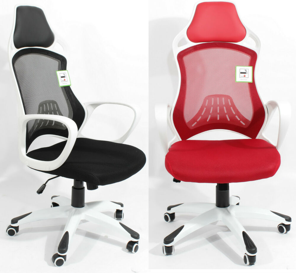 ergonomic chair with mesh back