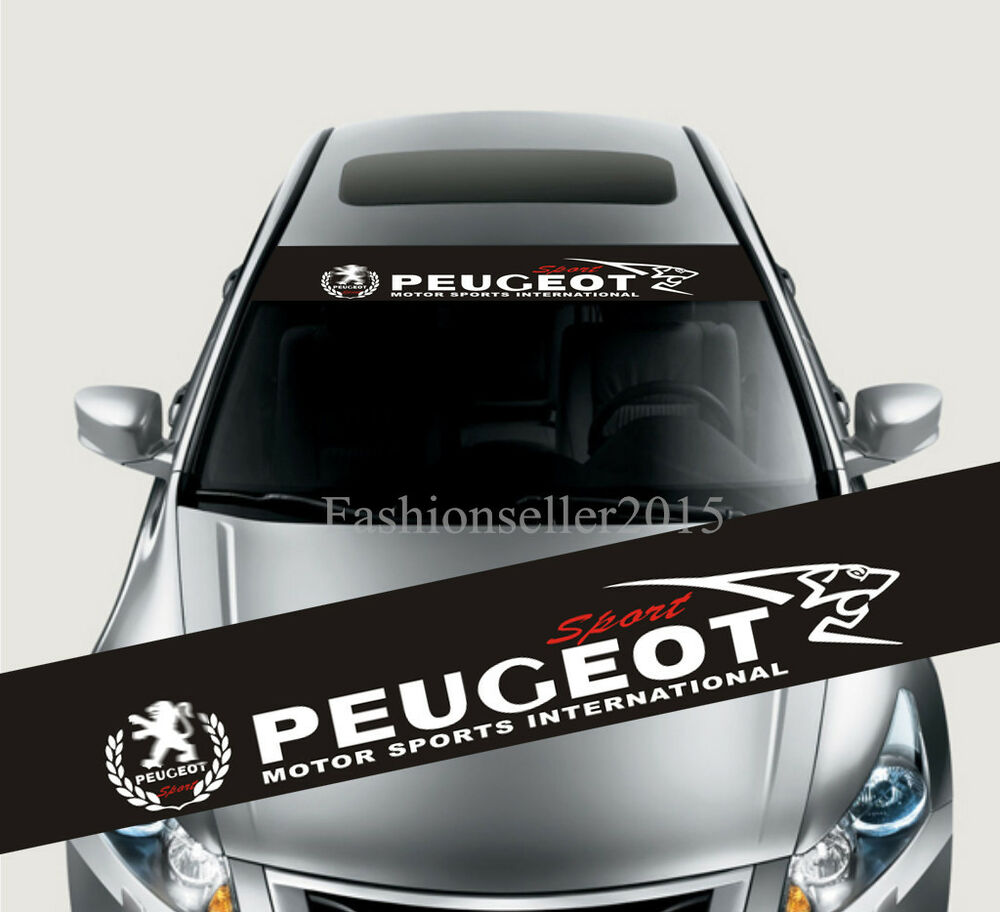 Reflective Front Windshield Decal Vinyl Car Sticker For