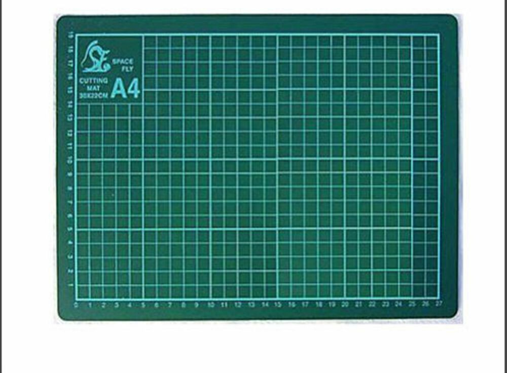 A4 Cutting Mat Printed Grid Lines Non Slip Knife Board