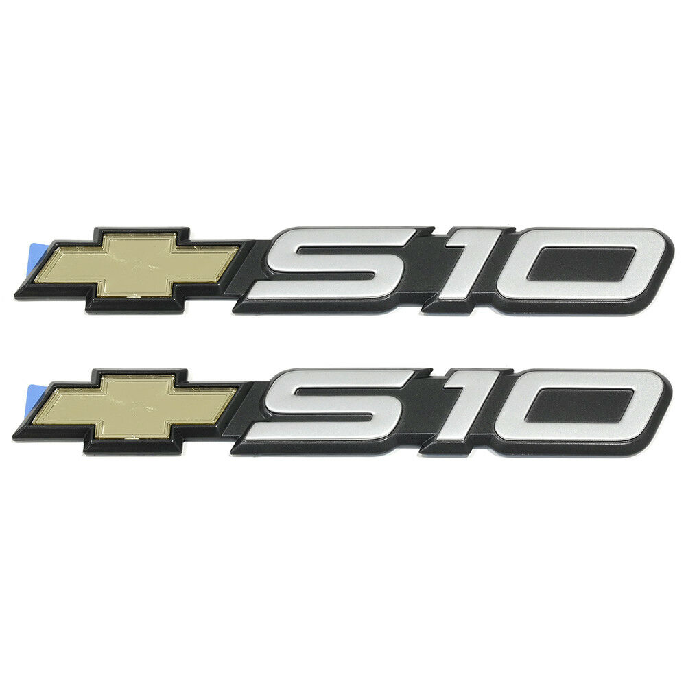 Oem New Front Door Or Tailgate S10 Emblem Set Of Two 94 04