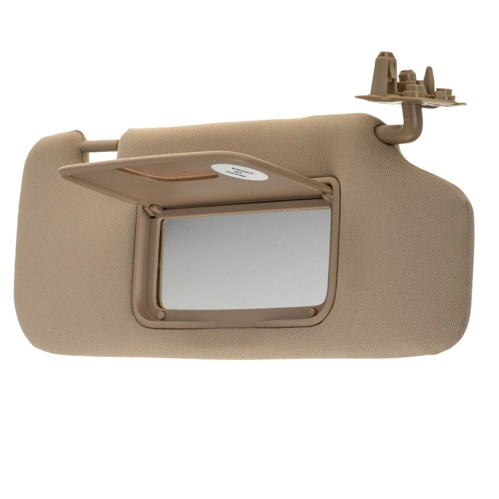 Details About Oem New Front Penger Sun Visor Shade W Mirror Cashmere 08 10 Vue 22771488
