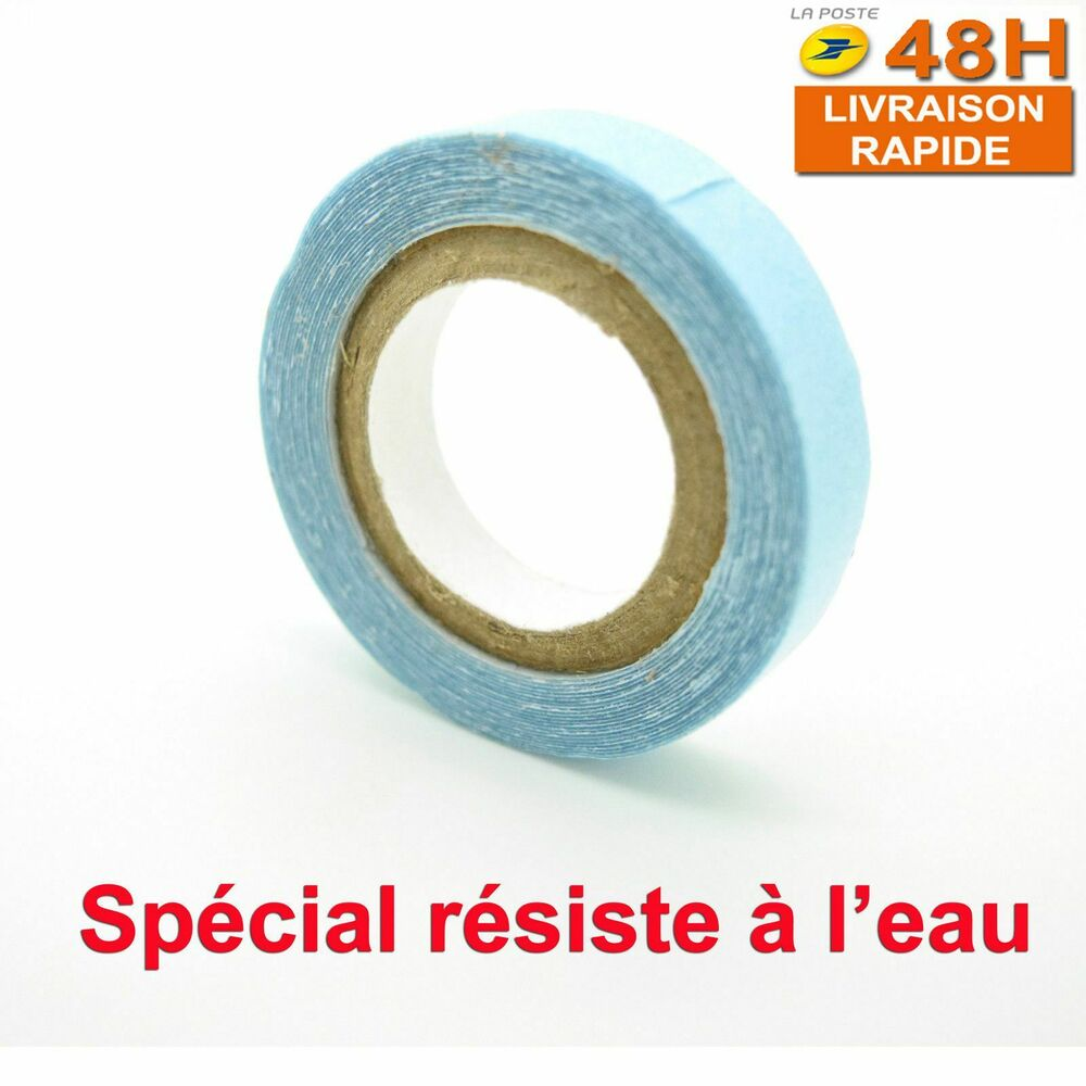 rouleau tape bandes adhesives autocollantes extensions cheveux resiste a l 39 eau ebay. Black Bedroom Furniture Sets. Home Design Ideas