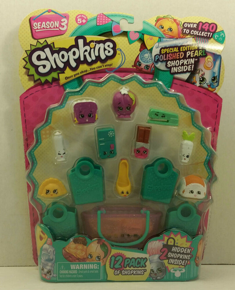 shopkins season 3 limited edition jewelry shopkins season 3 special edition polished pearl 12 pack 8464