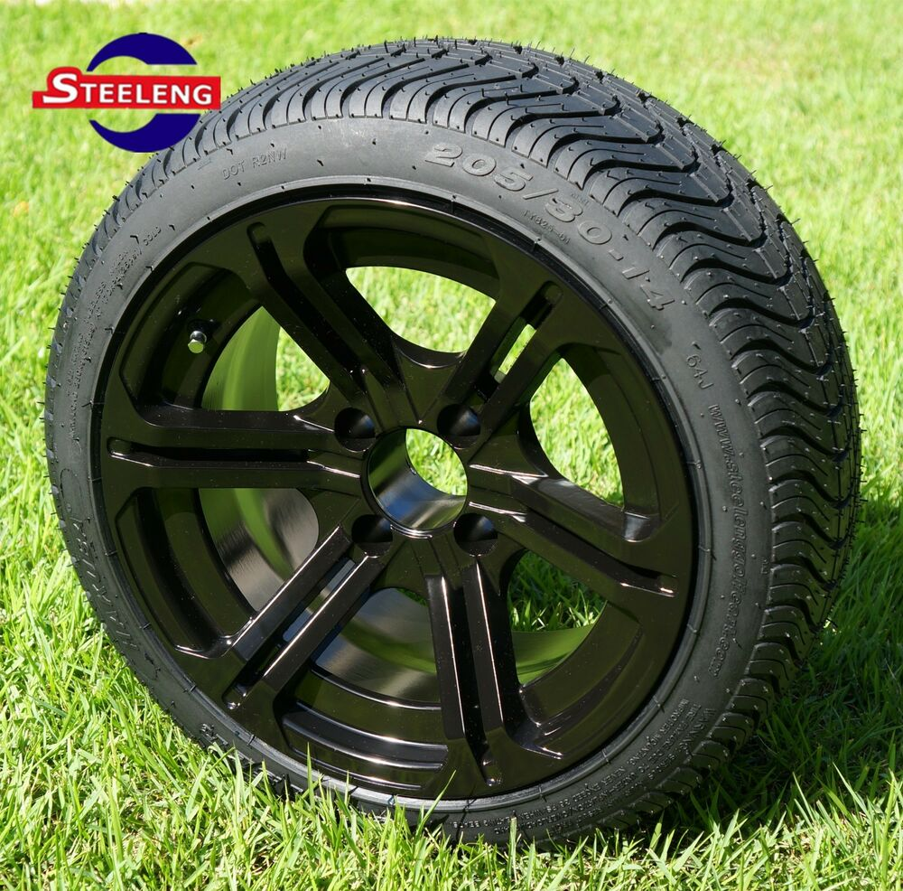 """Low Profile Tires >> GOLF CART 14"""" REAPER WHEELS and 205/30-14 DOT LOW PROFILE"""