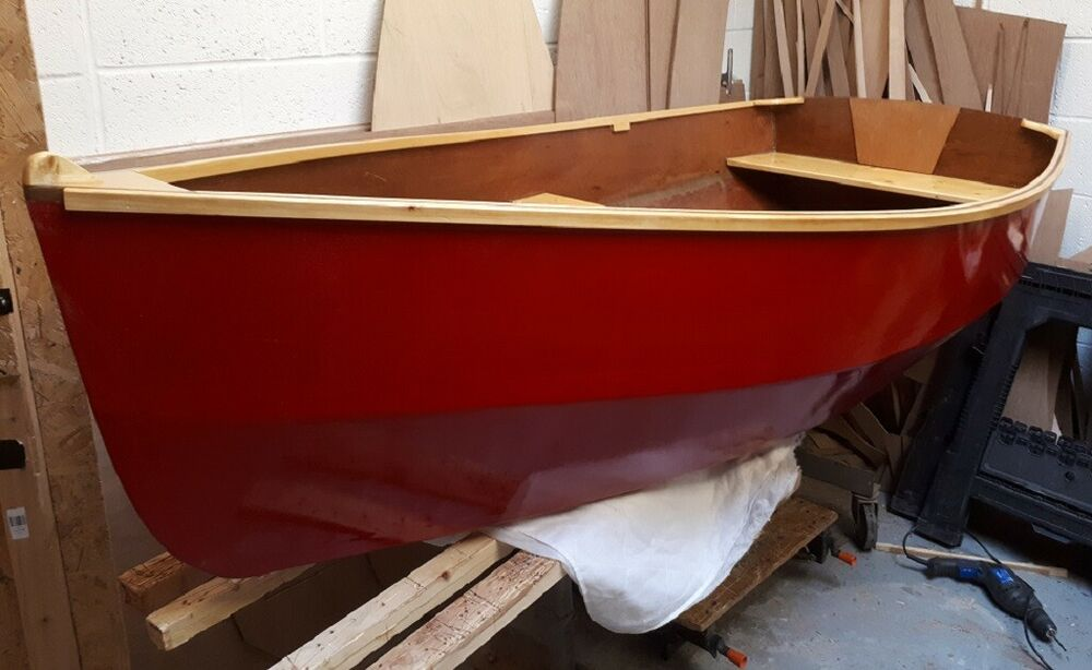 Rye Bay 228 Dinghy - Row/Motor/Sail DIY Plans/Full Size Patterns ...