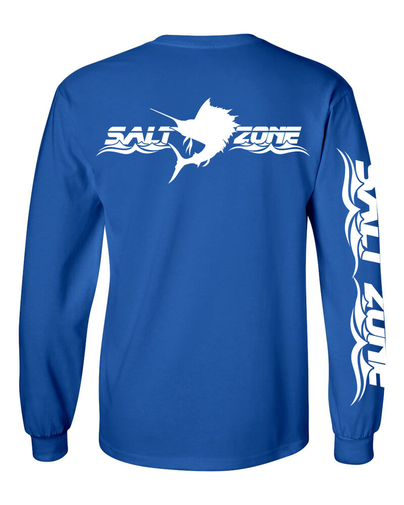 Salt zone performance wear mens saltwater long sleeve for Mens fishing shirts