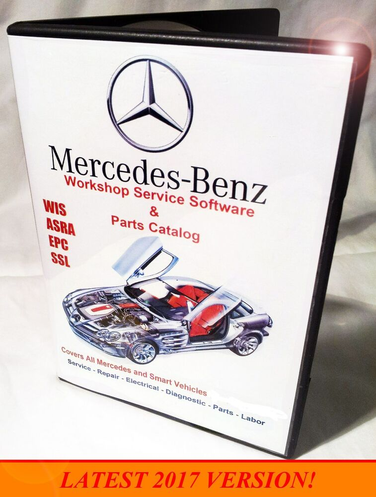 Mercedes 2017 wis asra epc dealer workshop software repair for Mercedes benz shop