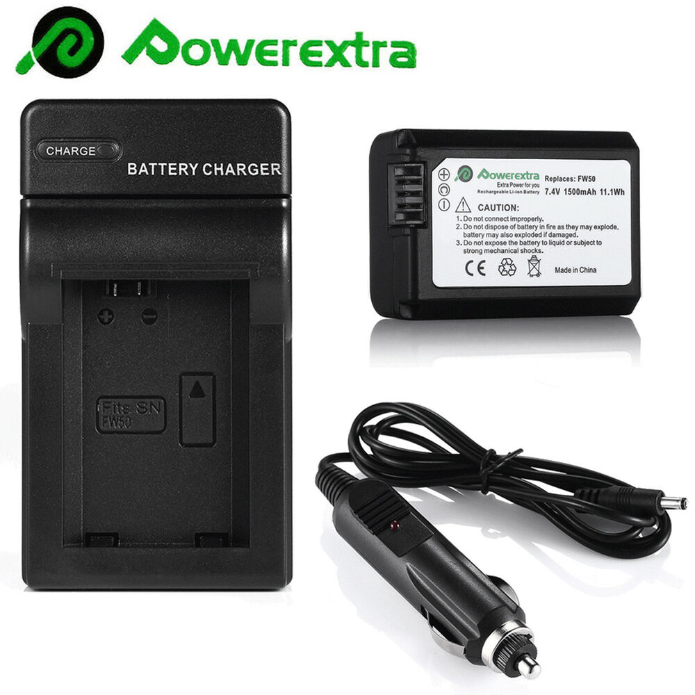 NP-FW50 Battery for SONY NEX-3N NEX-5T NEX-6 NEX-7 A3000 A5000 A6000 A7 +Charger | eBay
