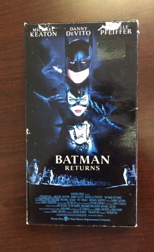 Sell Vhs Tapes >> Batman Returns (VHS, 1992) Michael Keaton, Michelle ...