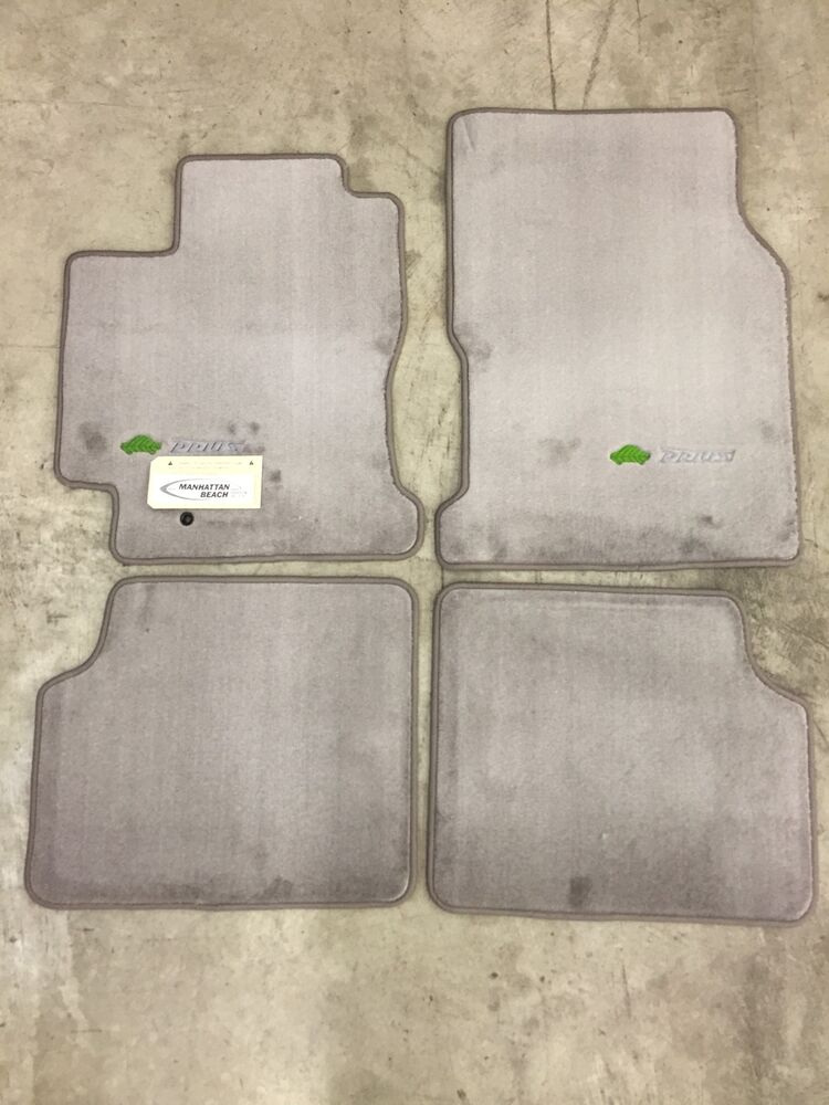 2001 2003 Prius Carpet Floor Mats Gray Pt208 47010 03