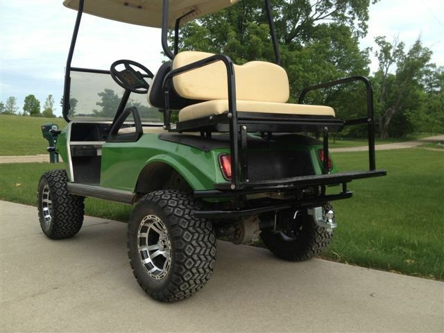 Club Car Ds Golf Cart Rear Bumper With 2 Quot Hitch Receiver