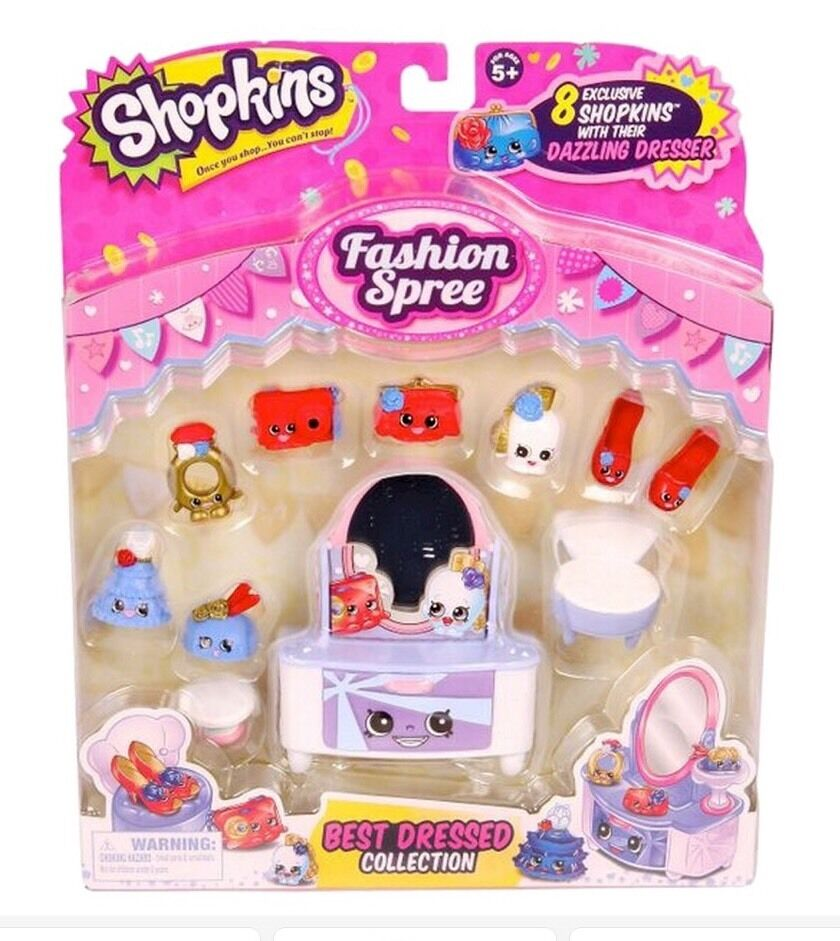 Shopkins Season 3 BEST DRESSED Collection Fashion Spree