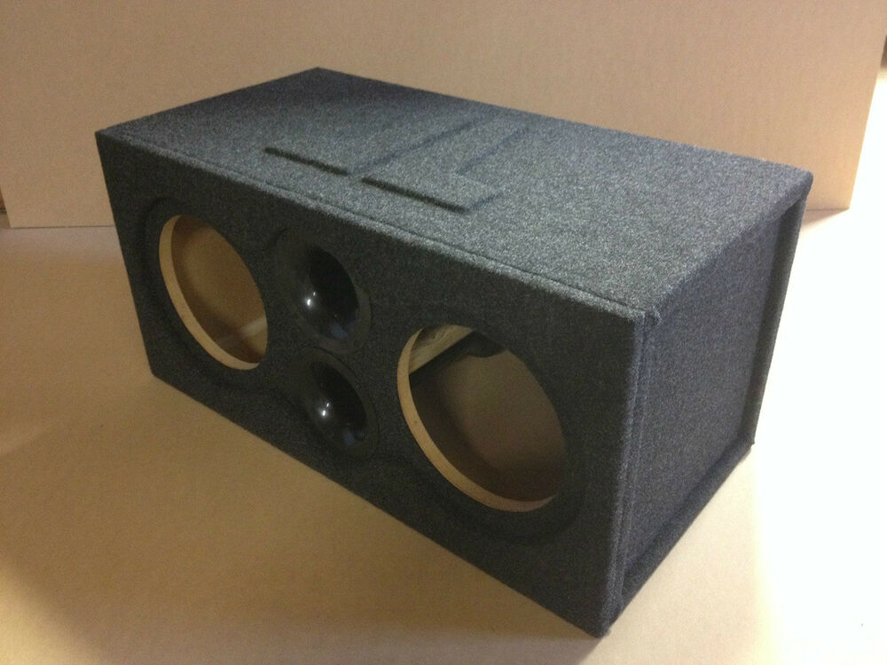 ported recessed sub enclosure box for 2 10w7 10 w7 subs. Black Bedroom Furniture Sets. Home Design Ideas