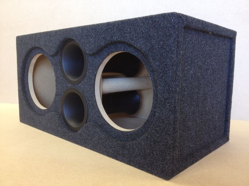 vented ported sub box subwoofer enclosure 2 10 flush. Black Bedroom Furniture Sets. Home Design Ideas
