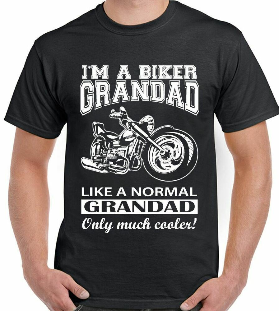 Details about I m A Biker Grandad - Mens Funny Motorbike T-Shirt Father s  Day Birthday Bike cde2845c0