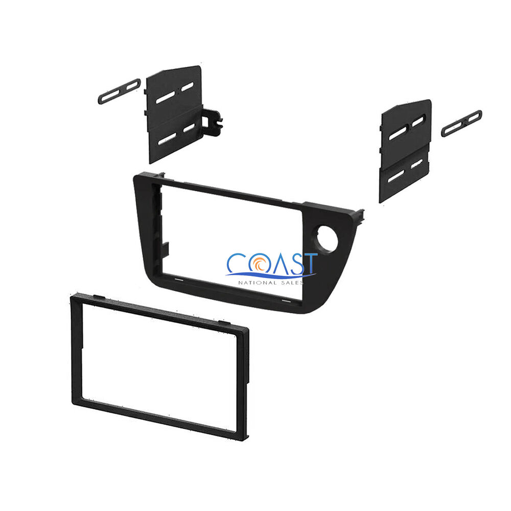 Single Double DIN Install Car Stereo Dash Kit For 2002