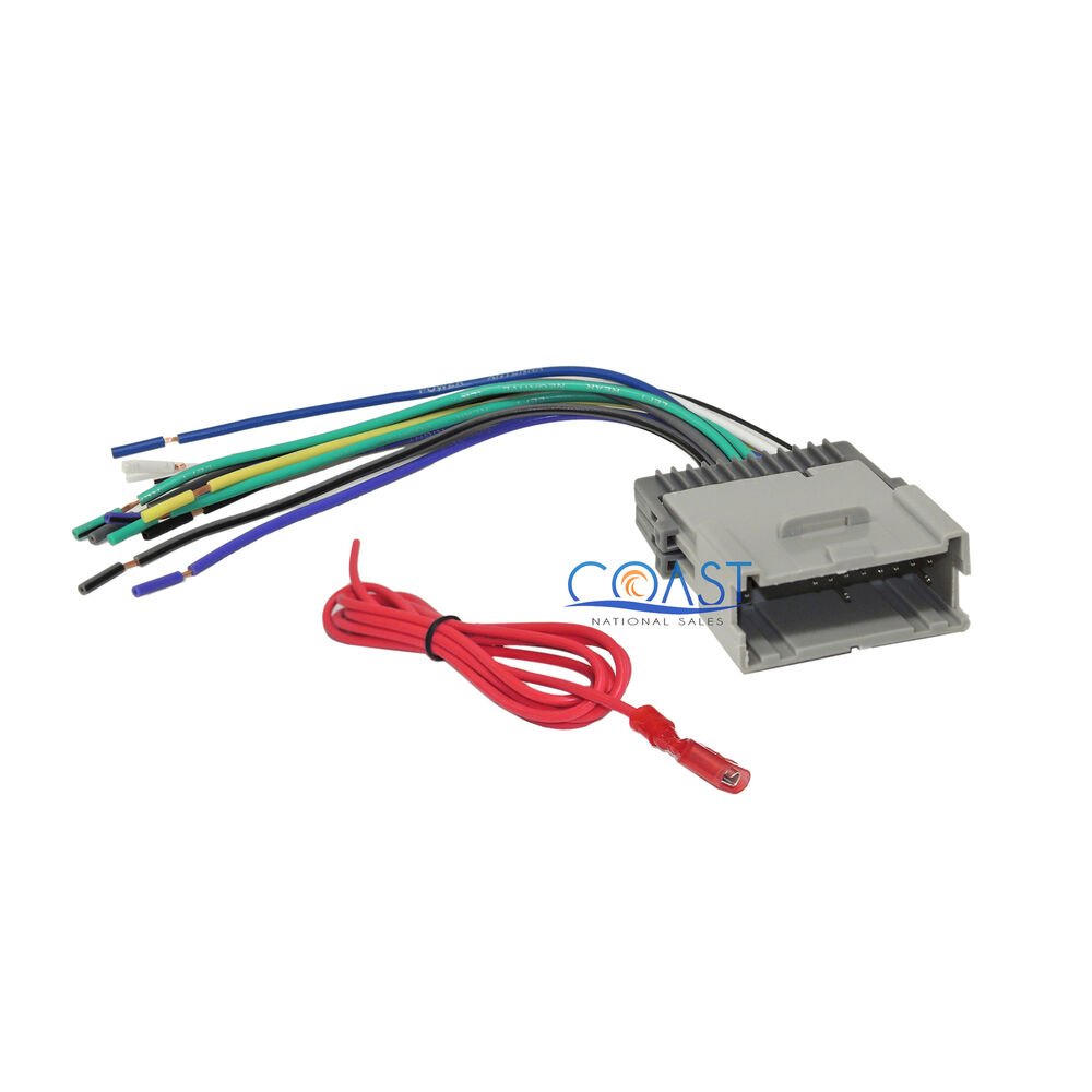 car stereo radio wiring harness for 2004 up select