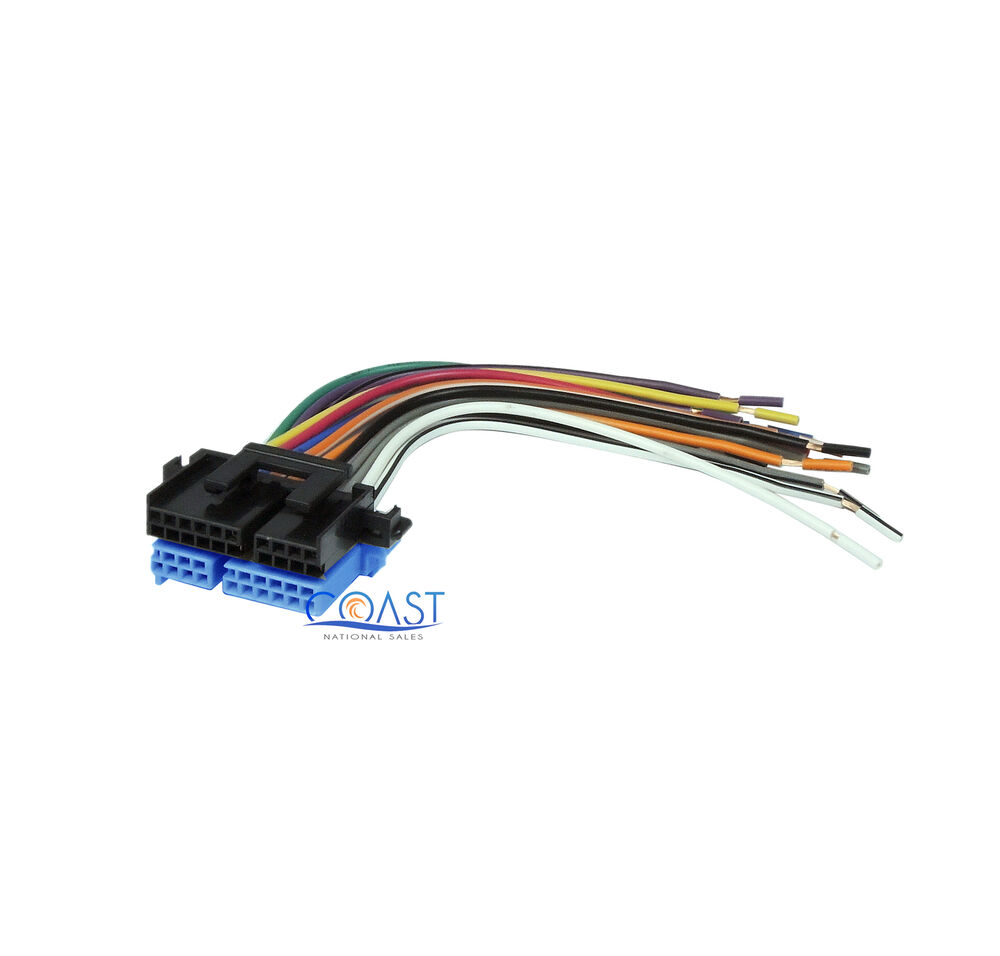 Car stereo wiring harness to factory radio  buick