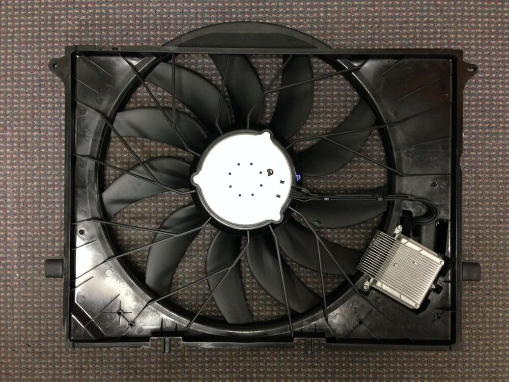 Replacement Motor Cooling Fans : Mb new replacement cooling fan assembly oem