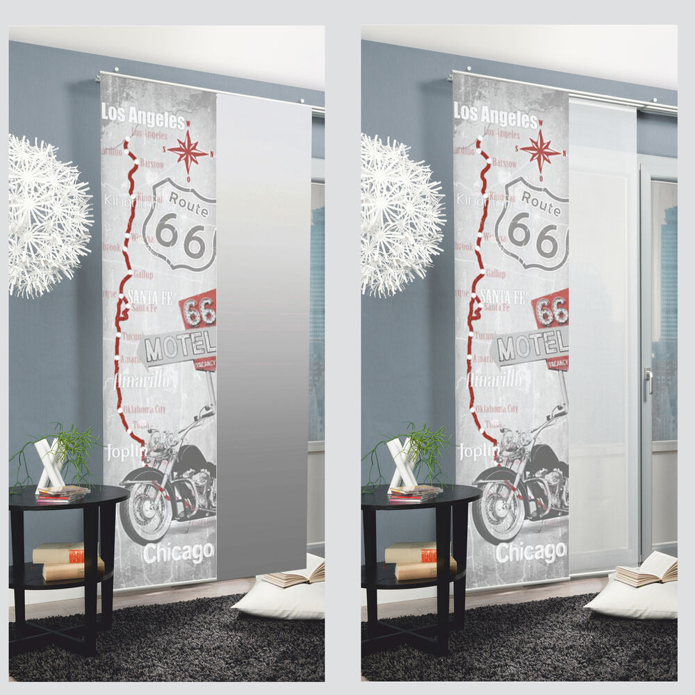 Chicago Sliding Curtain Surface Panel Room Divider Curtain