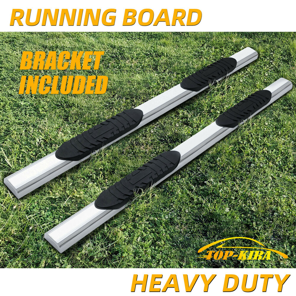 2015 ford f150 super crew cab 5 nerf bar side bar running. Black Bedroom Furniture Sets. Home Design Ideas