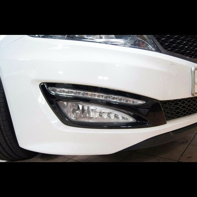 led daytime running light drl day lights fog lamp for kia. Black Bedroom Furniture Sets. Home Design Ideas