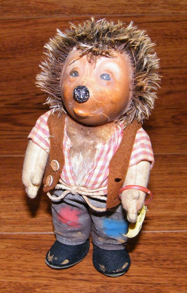 Vintage 7 Quot Steiff Mecki Hedgehog With Armband Amp Tag Made In Germany Ebay