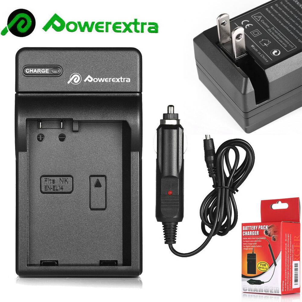 Mh 24 Battery Charger For Nikon En El14 P7100 P7000 D5100