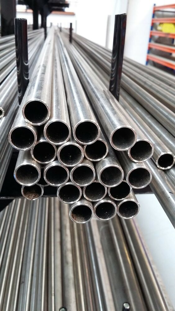 Stainless Steel Tube 10mm Od X 8mm Id 1mm Wall 316