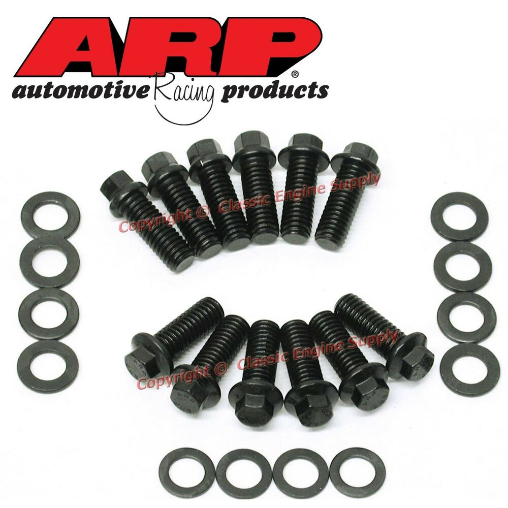 New 134-2001 ARP Hex Head Intake Manifold Bolt Set Chevy