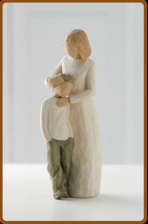 willow tree figurine mother and son 26102 nib ebay. Black Bedroom Furniture Sets. Home Design Ideas