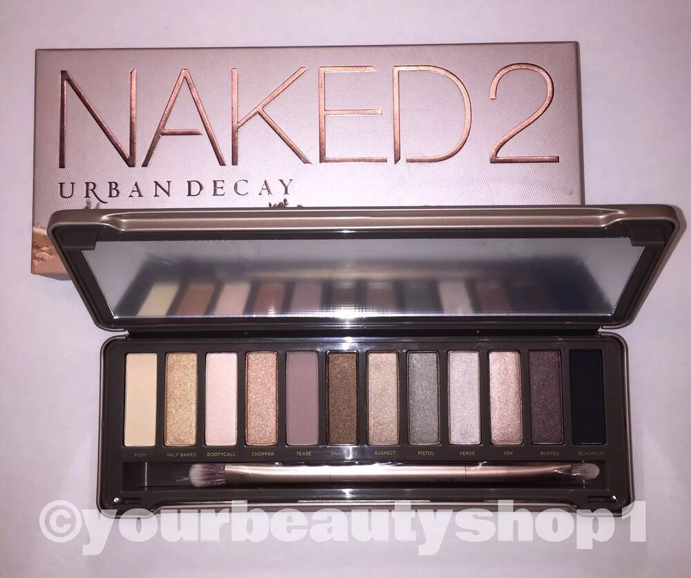 Brand New Urban Decay Naked 2 Palette Eye Shadow 100 -2661