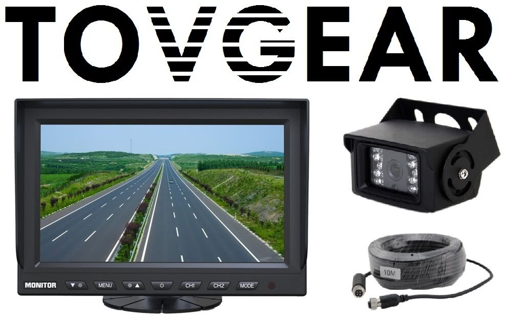 Tovgear 7 Quot Inch Rear View Backup Camera System For Truck
