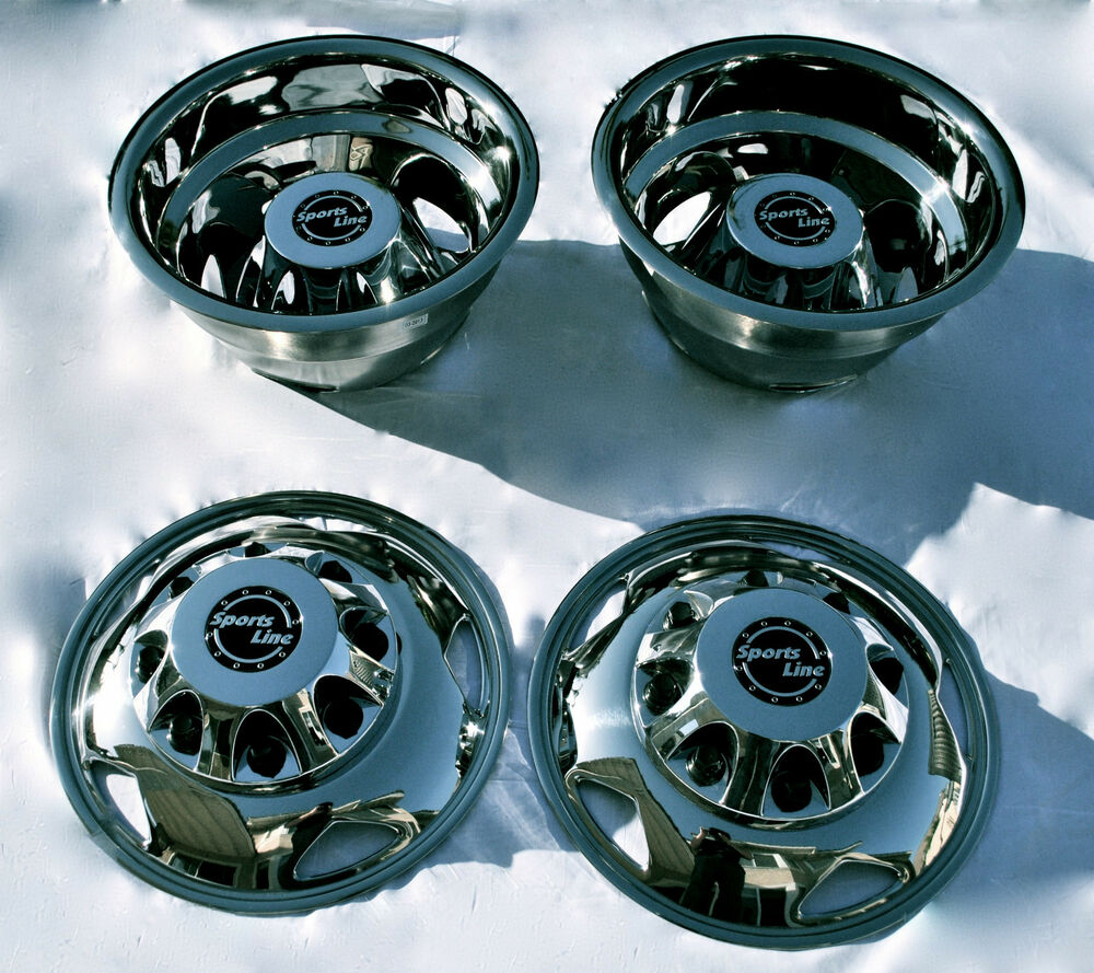 Gm Chevy 3500hd 17 Quot Stainless Steel Dually Wheel Simulator