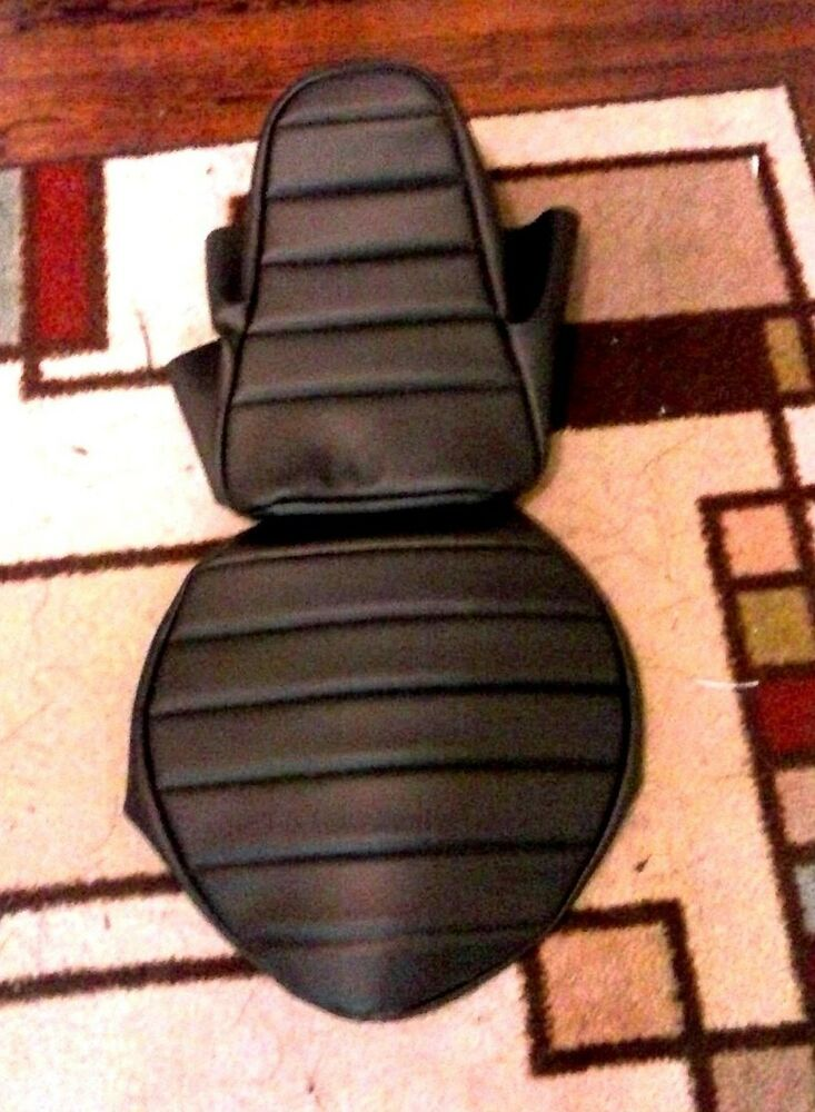 Motorcycle Seat Replacement : Honda vt c shadow piece custom hand made
